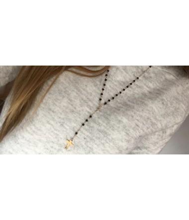 Lang halskæde med kors