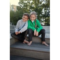 Børne hættetrøje med lynlås