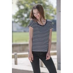 Løstsiddende T-Shirt - Dame